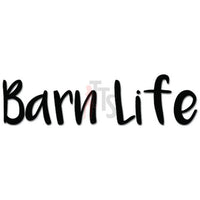 Barn Life Farmer Animals Decal Sticker