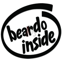 Beardo Inside Decal Sticker