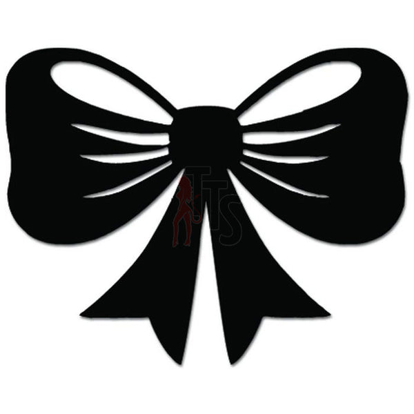 Bow Bowtie Ribbon Decal Sticker