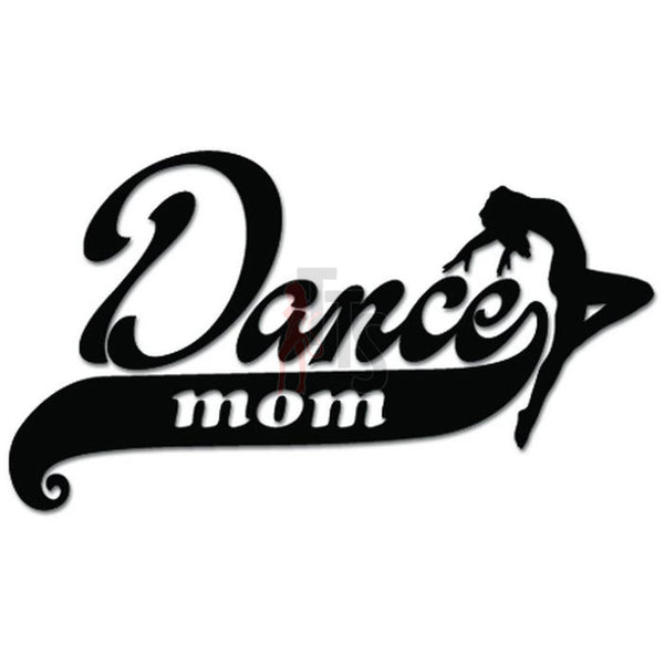 Dance Mom School Decal Sticker Style 2