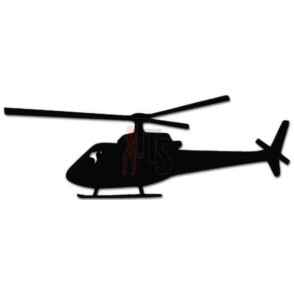 Helicopter Pilot Decal Sticker
