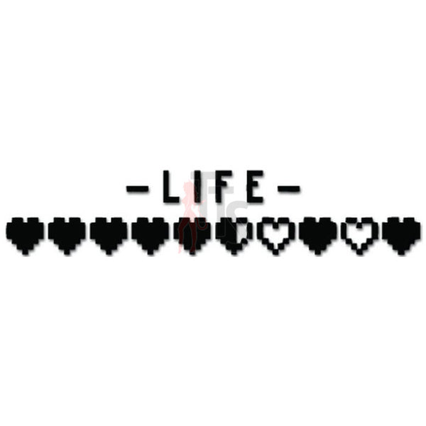 Life Heartbeat Decal Sticker