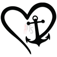 Love Anchor Sailing Navy Sailor Decal Sticker