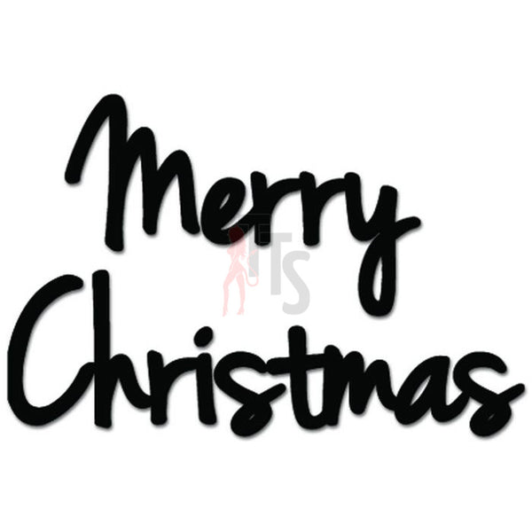 Merry Christmas Decal Sticker