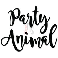 Party Animal College Fraternity Decal Sticker