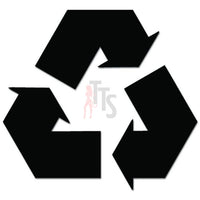 Recycle Symbol Eco Friendly Decal Sticker