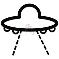 UFO Spaceship Decal Sticker
