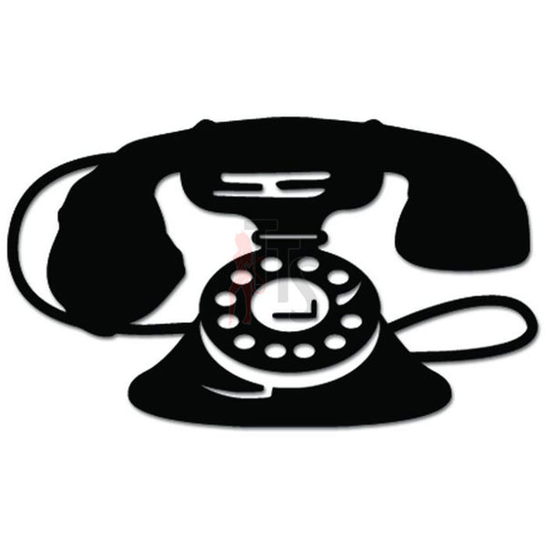 Vintage Phone Retro Decal Sticker