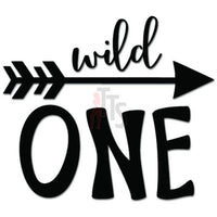 Wild One Arrow Aim Target Decal Sticker