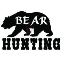 Bear Hunting Hunter Decal Sticker