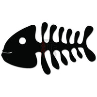 Fish Bones Fishing Skeleton Decal Sticker