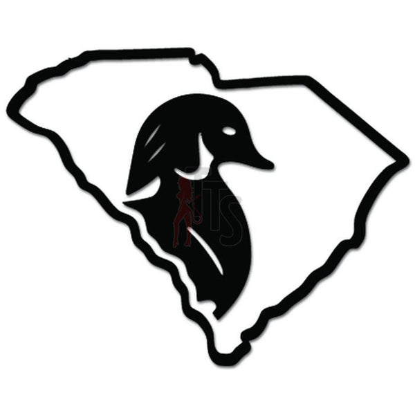 South Carolina State Duck Hunting Decal Sticker