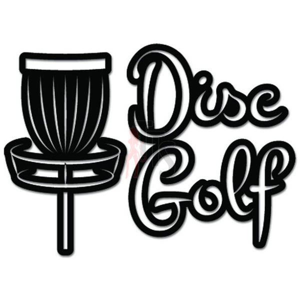 Disc Golf Game Decal Sticker