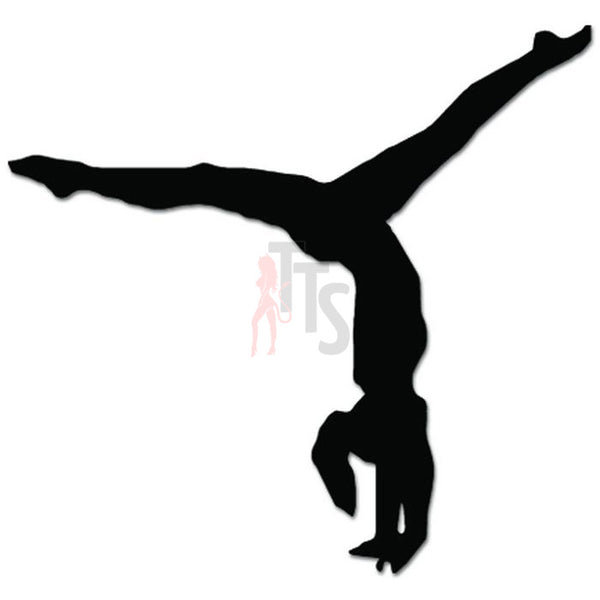 Gymnast Gymnastics Decal Sticker