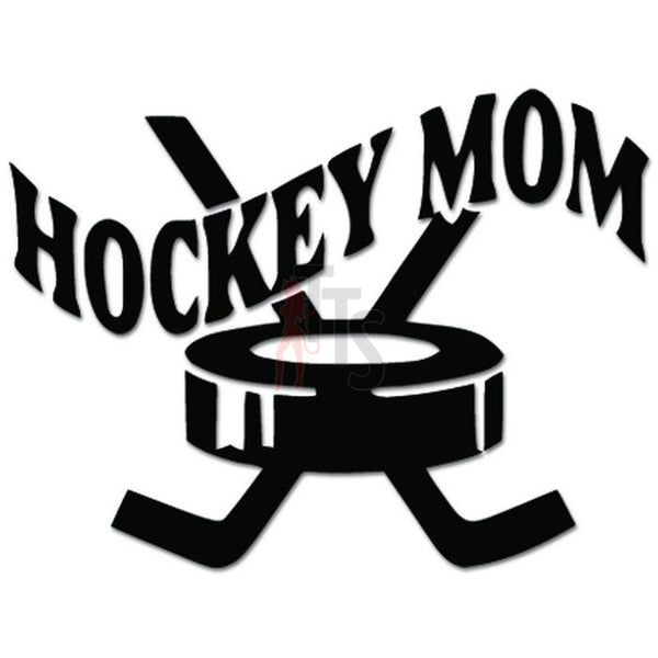 Hockey Mom Decal Sticker