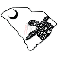 South Carolina Loggerhead Sea Turtle Decal Sticker