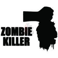 Hunter Killer Headless Zombie Decal Sticker