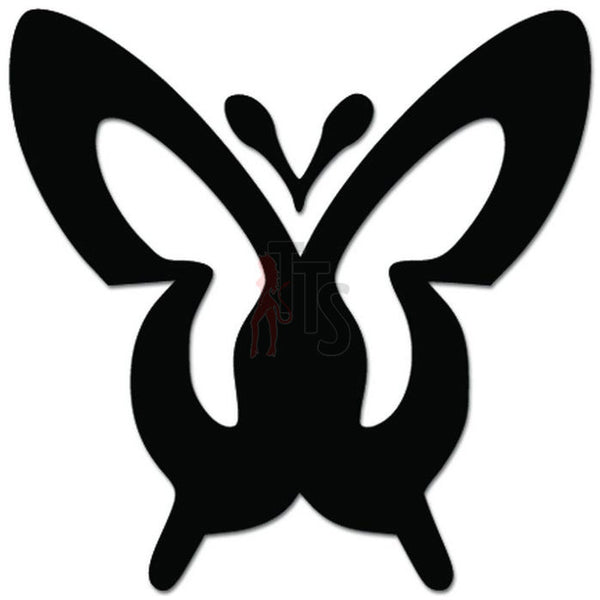 Butterfly Insect Decal Sticker Style 3