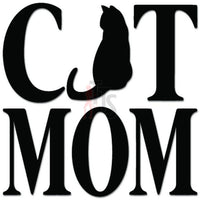 Cat Mom Kitten Pet Lover Decal Sticker Style 2