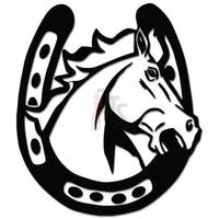 Horse Horseshoe Farrier Decal Sticker