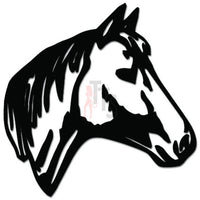 Horse Head Decal Sticker Style 9