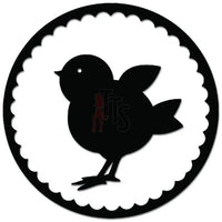 Spring Chick Farm Chicken Decal Sticker