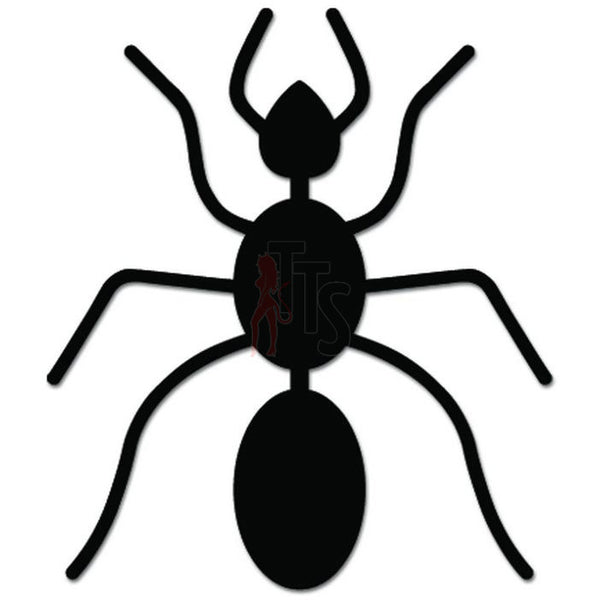 Ant Insect Bug Decal Sticker Style 1