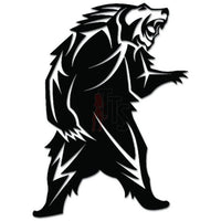 Tribal Bear Roaring Animal Decal Sticker