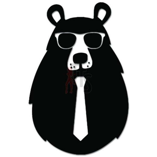 Cool Bear Wearing Sunglasses Decal Sticker