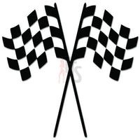 Checkered Racing Flag Decal Sticker