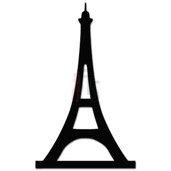 Eiffel Tower Paris France Decal Sticker Style 1