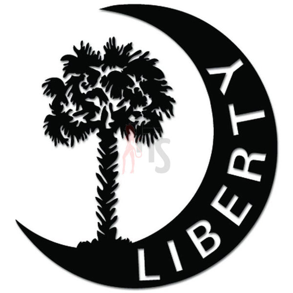 Moultrie Liberty Flag South Carolina Decal Sticker Style 2