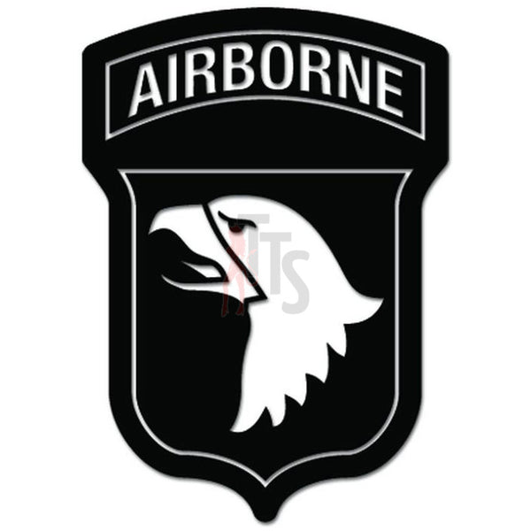 101st Airborne Division US Army Decal Sticker Style 2