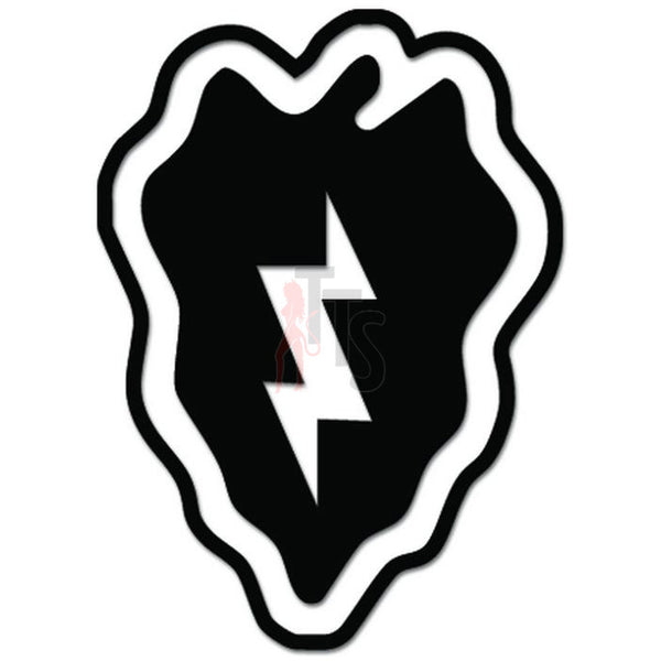 25th Infantry Division Tropic Lightning US Army Decal Sticker