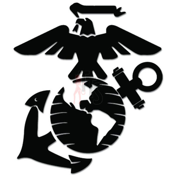USMC Marines Emblem Decal Sticker