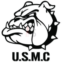 USMC Marines Bulldog Decal Sticker
