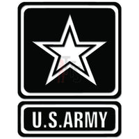US Army Military Star Decal Sticker
