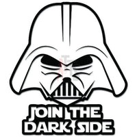 Darth Vader Join The Dark iSide Decal Sticker