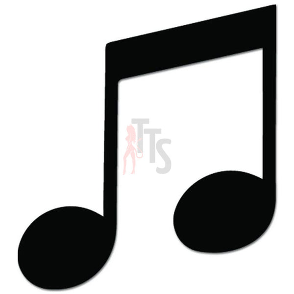 Music Note Teacher Decal Sticker