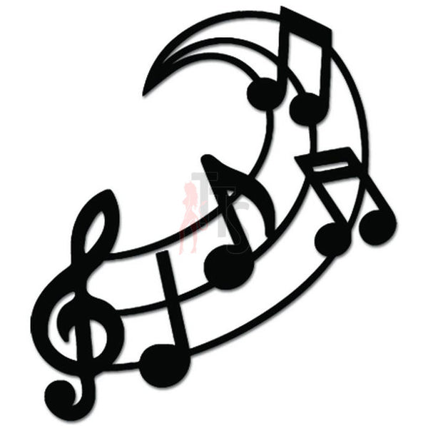 Music Notes Teacher Decal Sticker