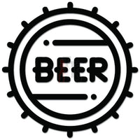 Beer Keg Decal Sticker