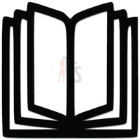 Book Librarian Decal Sticker