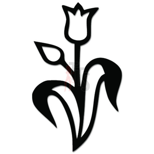 Flower Lily Garden Decal Sticker