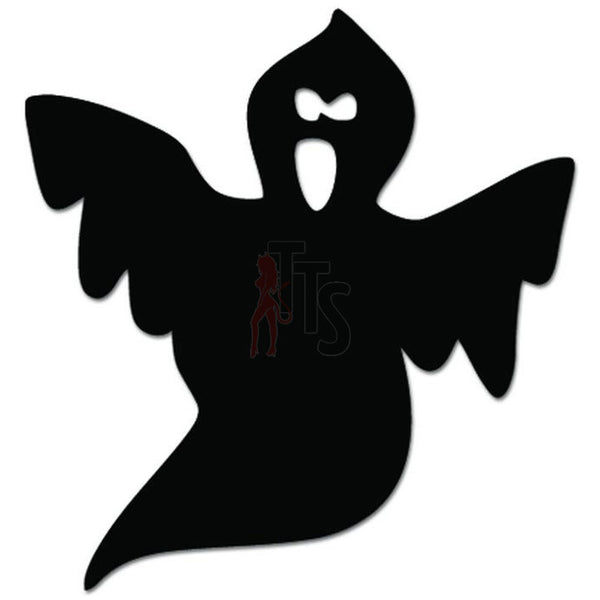 Ghost Boo Scary Halloween Decal Sticker