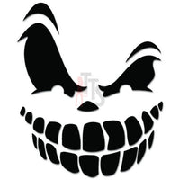 Grinning Face Skull Decal Sticker