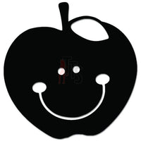Smiling Apple Happy Teacher Education Decal Sticker