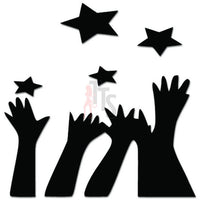 Reach For The Stars Dream Decal Sticker