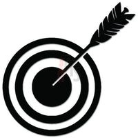 Shooting Target Bow Arrow Decal Sticker