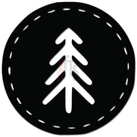 Tree Decorative Outdoors Camping Decal Sticker