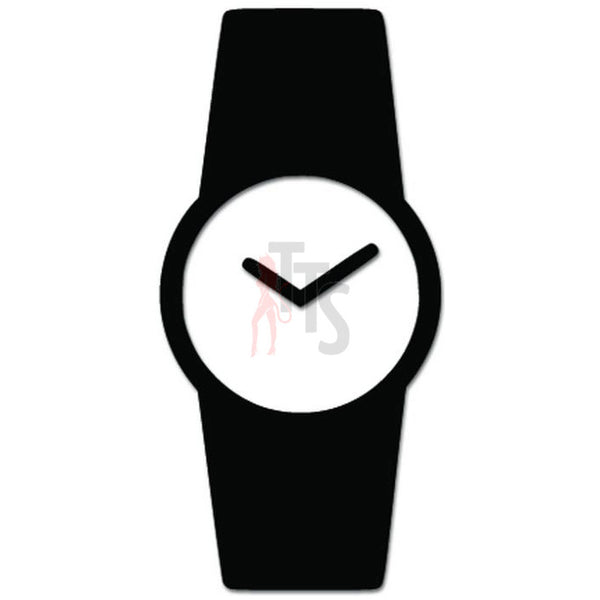 Wrist Watch Store Decal Sticker